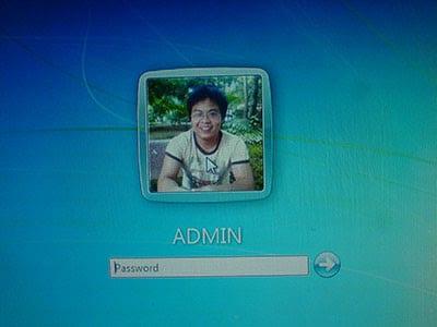đăng nhập máy tính