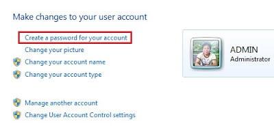 Tạo mật khẩu cho máy tính