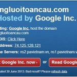 Cách kiểm tra trang web nào đó thuê hosting ở đâu