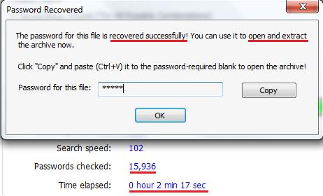Đã phá được mật khẩu yếu