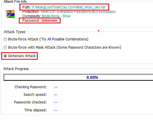 Dò mật khẩu yếu