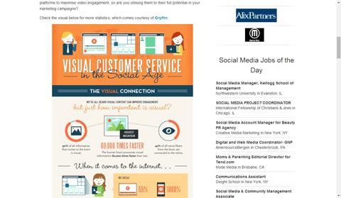 Visual.ly có khả năng đưa infographic của bạn đến nhiều công ty lớn tiếp cận.