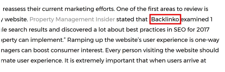 không phải ai nhắc đến thương hiệu của bạn cũng sẽ liên kết đến bạn