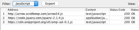 liên kết JavaScript trỏ ra bên ngoài