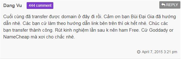 không đăng ký tên miền ở công ty hosting