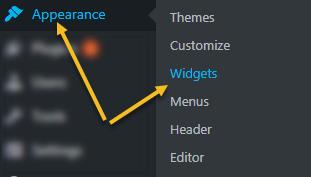 cách vào widget, giao diện tiếng Anh