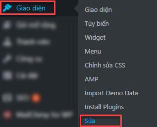 sửa giao diện tiếng Việt