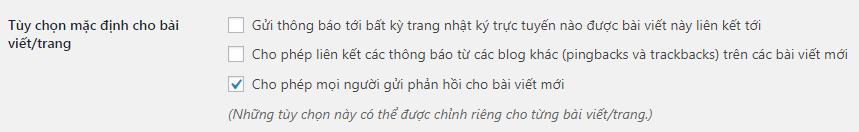 thiết lập mặc định tiếng Việt