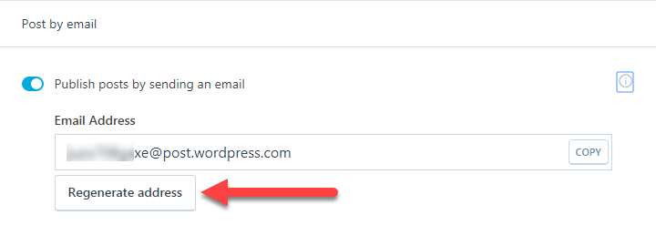 gửi bài viết mới qua email