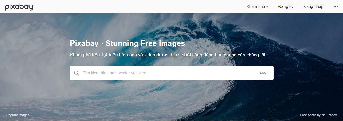 Pixabay - kho ảnh miễn phí