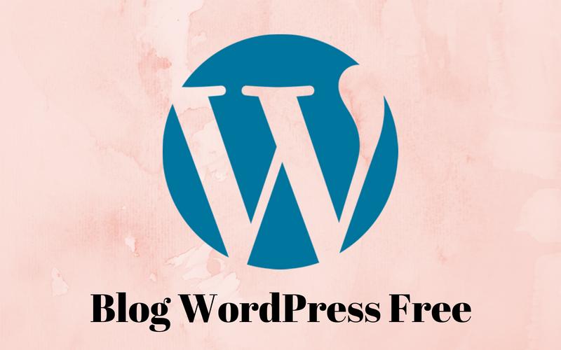 Blog WordPress miễn phí