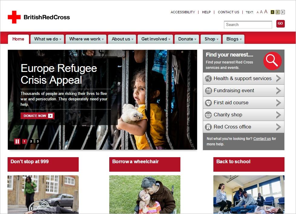 hội chữ thập đỏ Anh Quốc