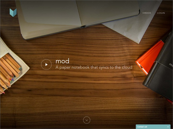 trang web của Mod Notebooks