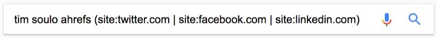 tìm kiếm thông tin mạng xã hội