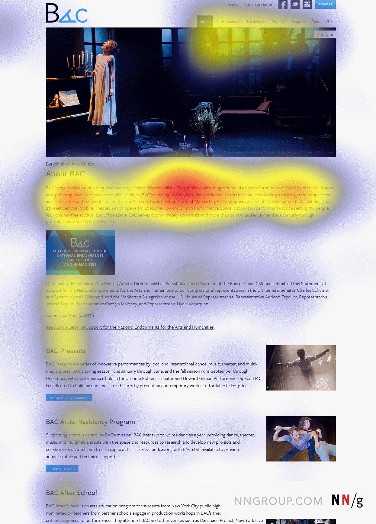 người dùng bỏ qua banner quảng cáo