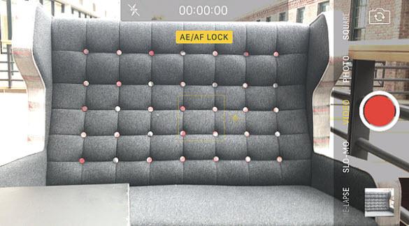 tính năng AF lock