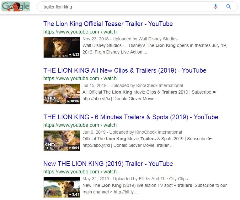 trailer phim vua sư tử
