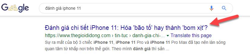 đánh giá iphone 11