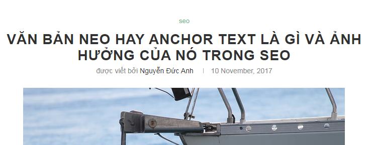 chèn thêm từ khóa anchor text vào tiêu đề