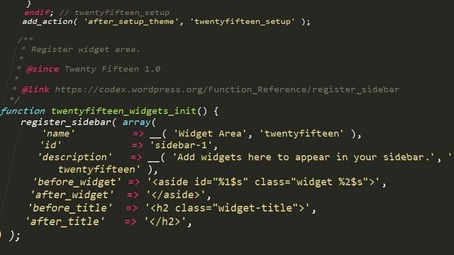 chèn code vào WordPress