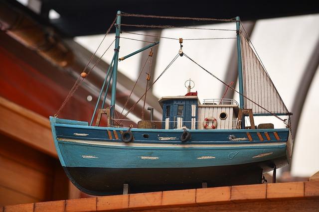 mô hình tàu thủy
